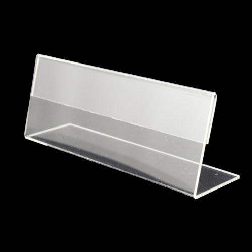 Bảng chức danh mica để bàn 1 mặt Acrylic Card Stand