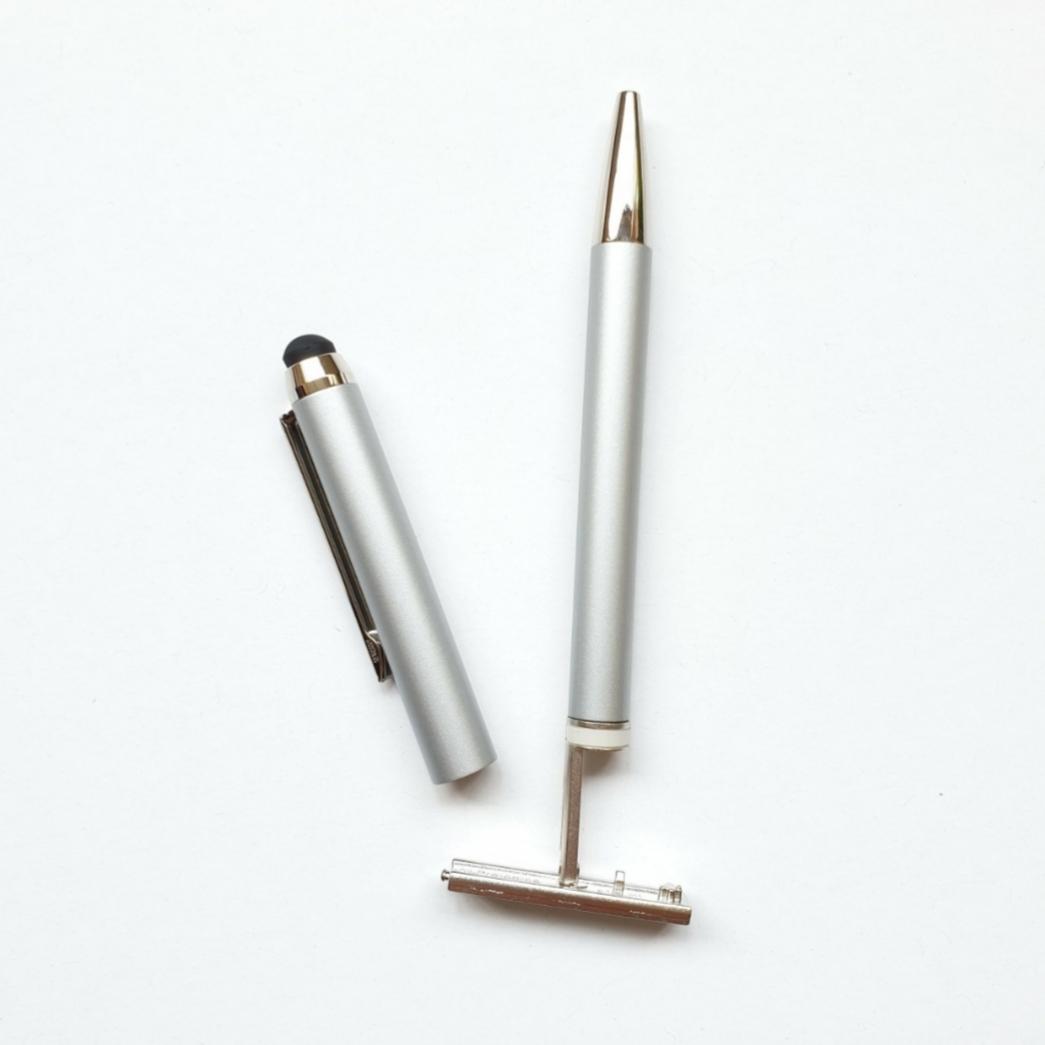 Bút bi có dấu tên Heri 3300M Stamp & Smart Pen 3 in 1