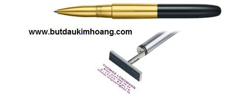 Bút lông bi có dấu tên Heri NEW PROMESA 8520 Rollerball Stamping Pen