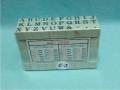 Dấu chữ ghép C-3 Rubber Character Sets Stamp