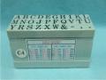 Bộ dấu chữ ghép C-4 Rubber Stamp Alphabet Sets