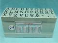 Dấu chữ ghép C-5 Multi Joint rubber stamp