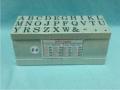 Dấu chữ ghép C-6 Multi Joint rubber stamp (Alphabet)