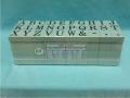 Dấu chữ ghép C-2 Rubber Stamp Alphabet Sets