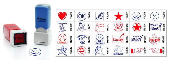 Dấu dùng cho giáo viên Teacher's Stamp
