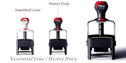 Dấu Shiny cao cấp khắc nội dung yêu cầu có số Essential Line / Heavy Duty With Number