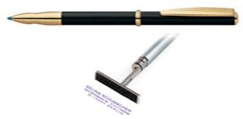 Bút bi có dấu tên Heri Styling 720 Stamping Pen