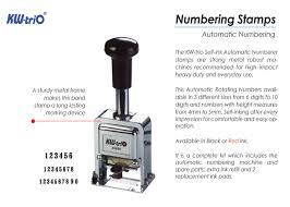 Máy đóng nhảy 10 số KW TriO 21000 – Numbering Machine