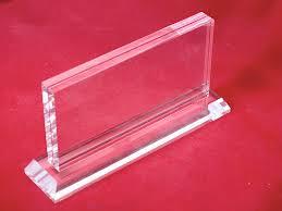 Mica để giá và tên sản phẩm Price Acrylic Holder