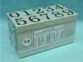 Dấu số ghép N-10 Multi Joint rubber stamp (Numbers)