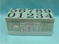 Dấu số ghép N-12 Multi Joint rubber stamp (Numbers)