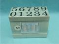 Dấu số ghép N-7 Multi Joint rubber stamp (Numbers)