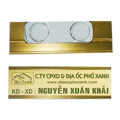 THẺ TÊN NHÔM – NKH012 (22x70mm)