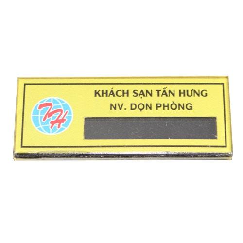 THẺ TÊN MICA IN PP UỐN  (25x70mm) MKH-09